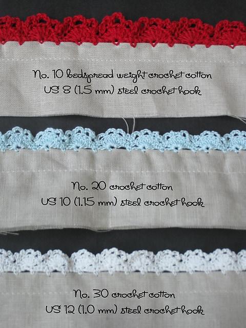 30 Free Crochet Edgings Oombawka Design Crochet