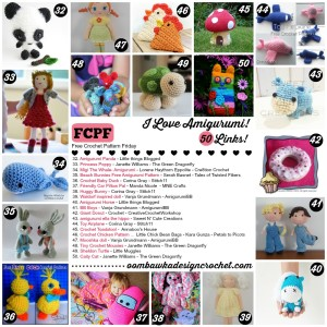 I Love Amigurumi! 50 Free Crochet Patterns!