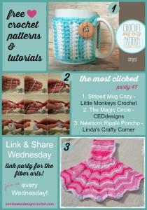 Featured: Newborn Ripple Poncho Pattern.
