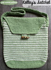 Kelley's Simple Tote Bag Pattern. Oombawka Design Crochet.