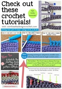 crochet tutorials