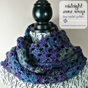 Midnight Aura Wrap Free Pattern 3