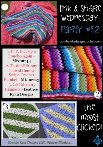 Featuring Sunny Festival Granny Stripe Blanket