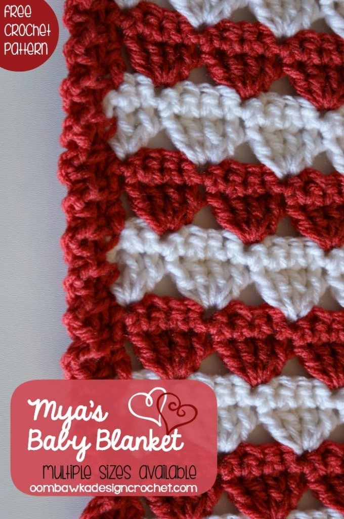 Myas Baby Blanket edging