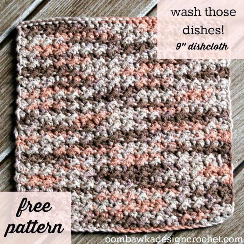 Free Online Crochet Dishcloth Patterns : Leisure Arts Book Review and a Free Crochet Pattern from ...