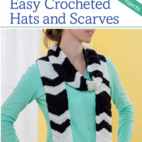 Easy Crocheted Hats and Scarves. Book Review. Martingale. Oombawka Design Crochet.
