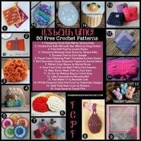 50 Bath Time Crochet Patterns. Free Pattern Roundup. Oombawka Design Crochet.