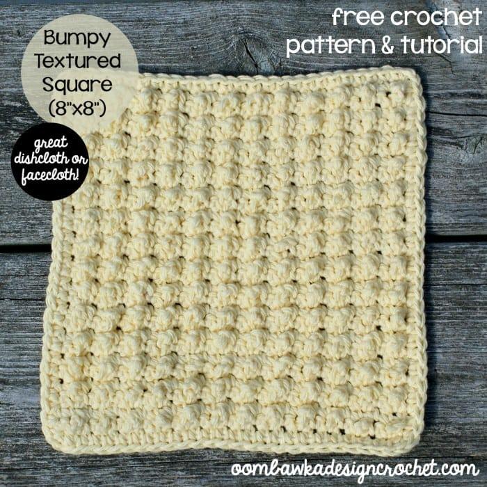 Bumpy Textured Square