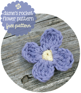 Dame's Rocket Flower Free Pattern