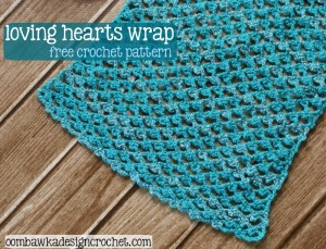 Free Pattern Loving Hearts Wrap
