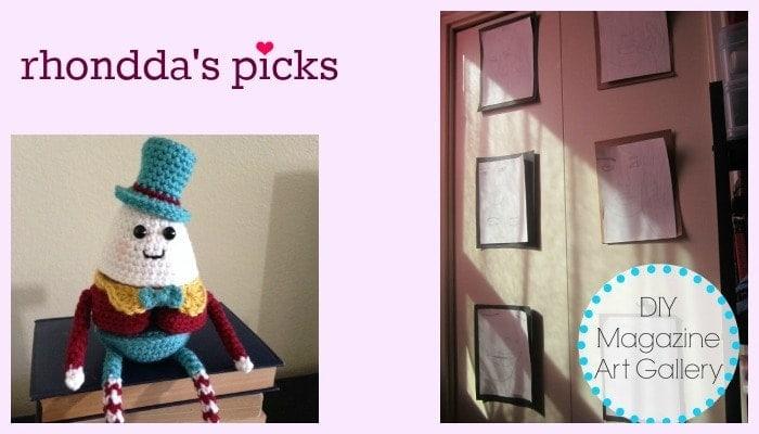 Tuesday PIN-spiration Week 14 - Rhondda's Picks