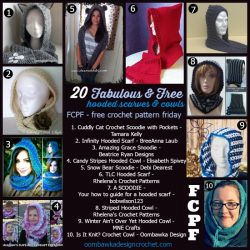 FCPF 20 free hooded scarves