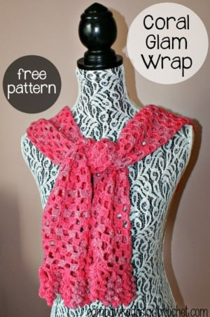 Wrap Coral Glam