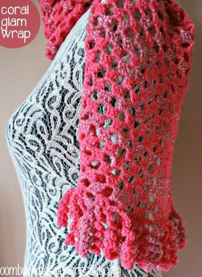 Free Coral Glam Wrap Pattern