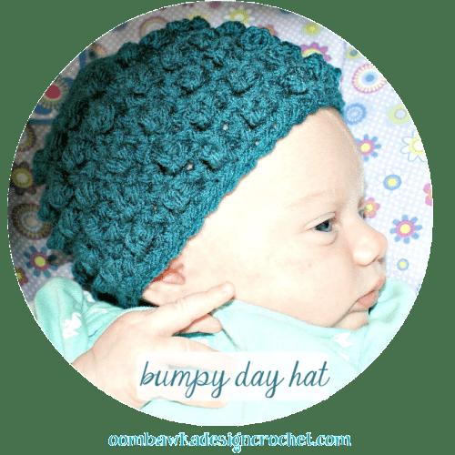 free pattern bumpy hat