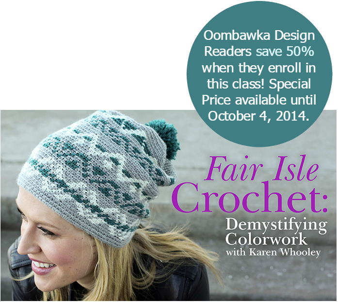 Learn Fair Isle Crochet! • Oombawka Design Crochet 4238bb53574