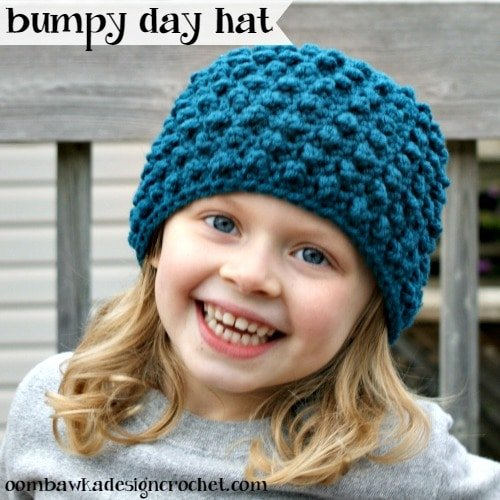 Free Crochet Pattern Bumpy Day Hat