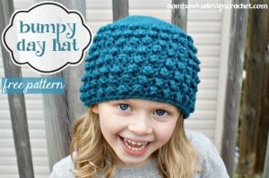 bumpy day hat free pattern