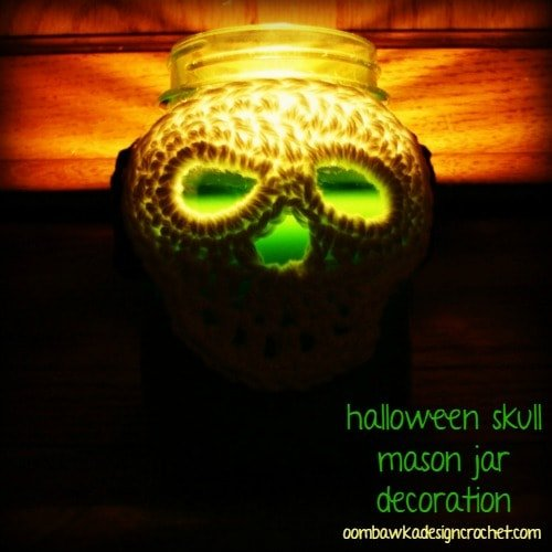 Burning Skull Halloween