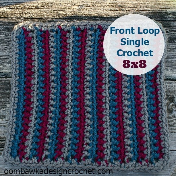 front loop single crochet