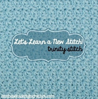 Trinity Stitch Tutorial and Free Pattern