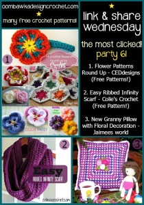 Featuring a Great Flower Patterns Roundup!