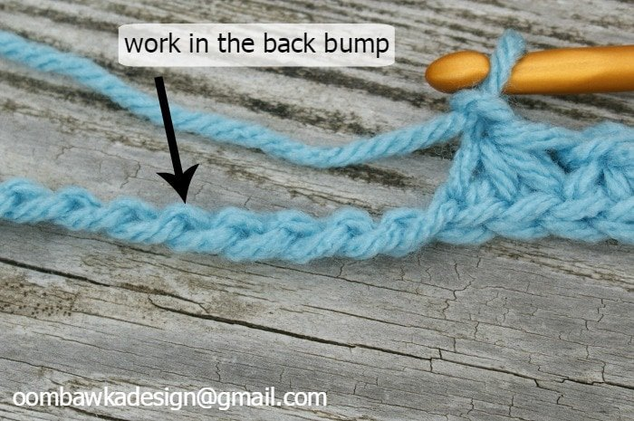 working in the back bump Trinity Stitch Tutorial and Free Pattern