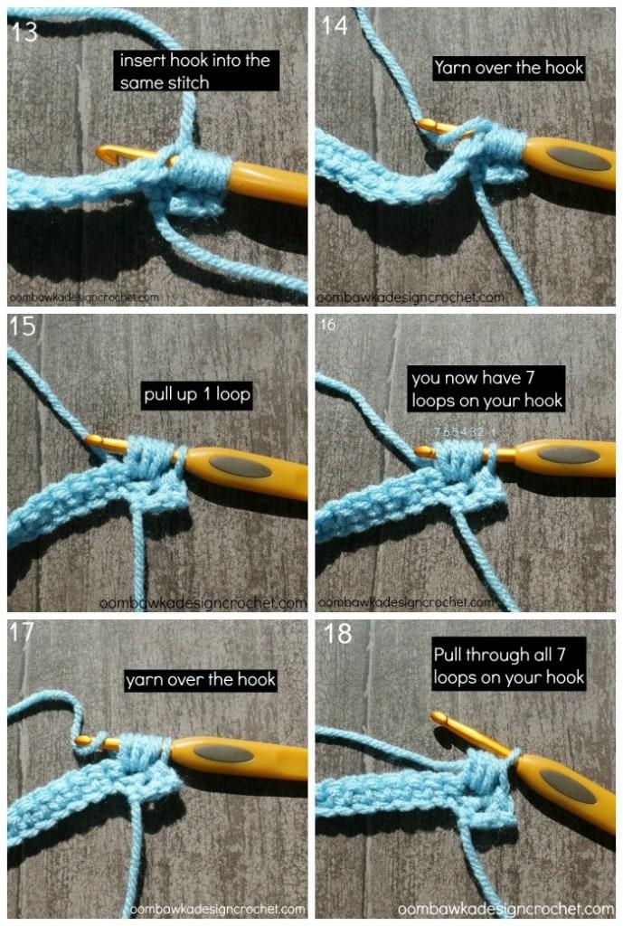 pebble stitch 3