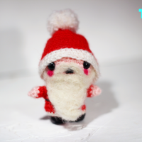 Amigurumi-Santa-Claus The Sun and The Turtle