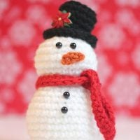 CrochetSnowman by Repeat Crafter Me