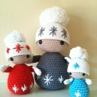 Winter Dolls by Annaboo's House