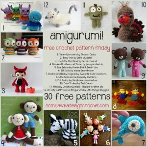 30 Free Amigurumi Patterns