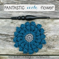 Fantastic Curly Flower Free Pattern