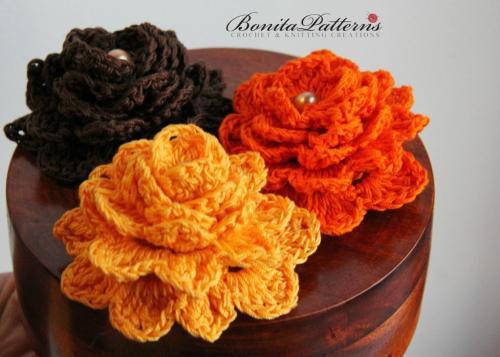 Free Gratitude Flower from Bonita Patterns