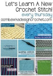 8 Crochet Stitch Tutorials