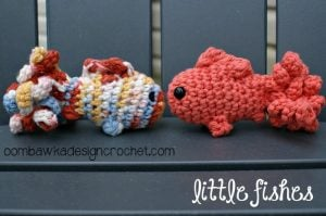 Free Crochet Pattern - Amigurumi Fish pattern