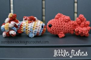 Free Crochet Pattern - Amigurumi Fish pattern