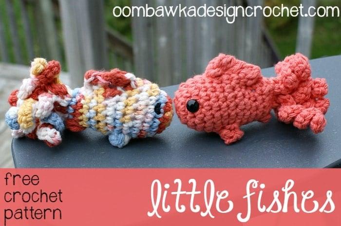 Little Amigurumi Fish Oombawka Design Crochet