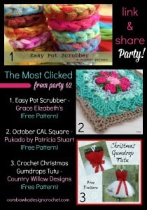 Featuring the Easy Crochet Pot Scrubber Pattern