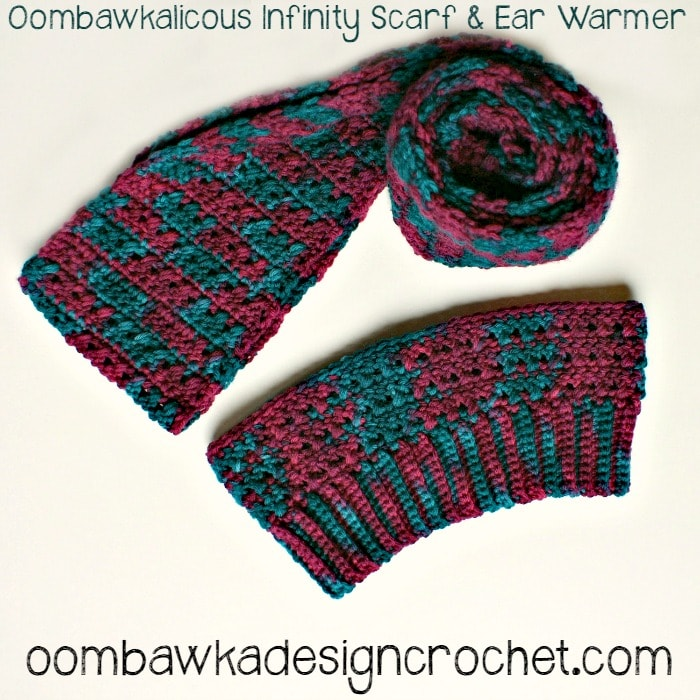 ear warmer infinity scarf and cowl