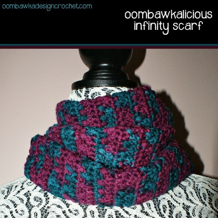 free pattern infinity scarf