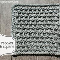 Pretty Pebbles Stitch Square