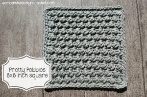 Pretty Pebbles Stitch Square