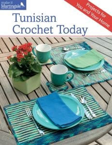Tunisian Crochet Today. Book Review. Oombawka Design.