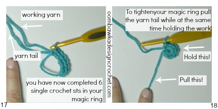 Magic Ring Tutorial 17 18