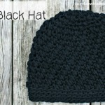 Myas Little Black Hat Free Crochet Pattern