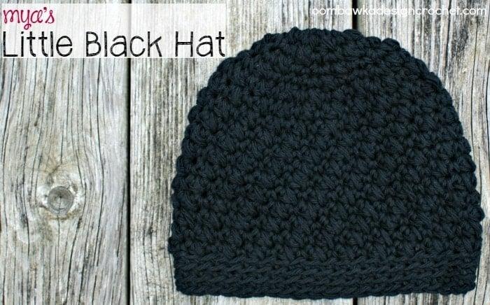 Myas Little Black Hat Free Crochet Pattern
