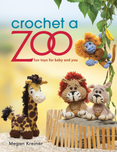Cover Crochet A Zoo. Book Review. Oombawka Design.