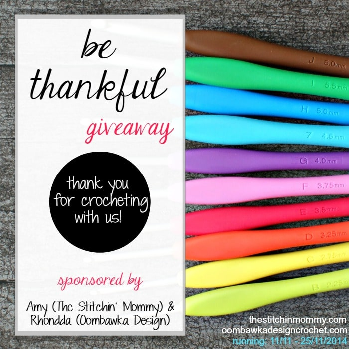 Be Thankful! Giveaway @OombawkaDesign