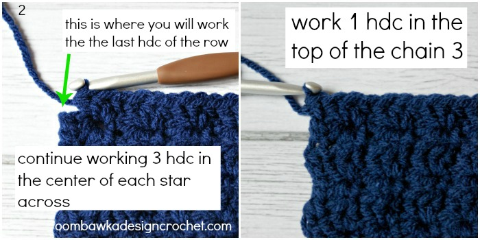 5 Pointed Star Stitch Tutorial @OombawkaDesign